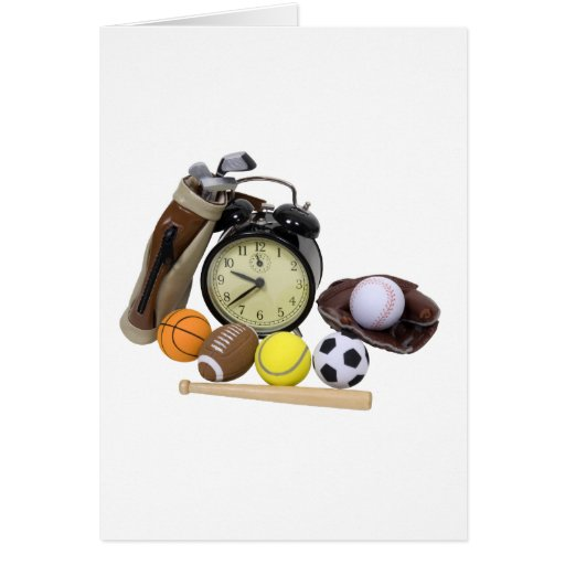 TimeForSports062509 Tarjeta De Felicitación