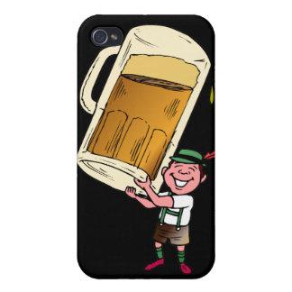 Timeglass de la cerveza iPhone 4 cárcasa