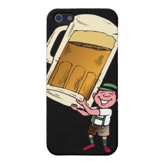 Timeglass de la cerveza iPhone 5 fundas