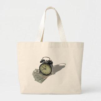 TimeIsMoney101610 Jumbo Tote Bag