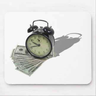 TimeIsMoney101610 Mouse Pad
