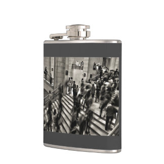 Timelapse Themed,  Time Lapse In Louvre Museum Sho Flask