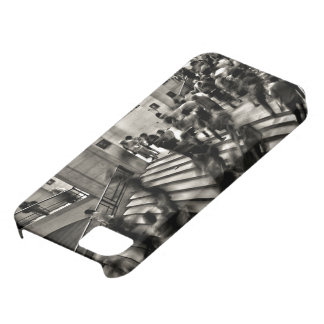 Timelapse Themed,  Time Lapse In Louvre Museum Sho iPhone 5 Case