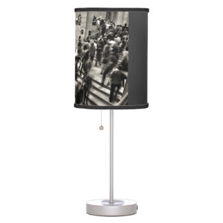 Timelapse Themed,  Time Lapse In Louvre Museum Sho Table Lamps