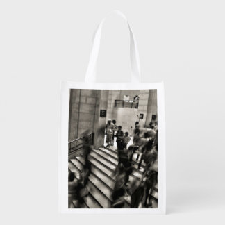 Timelapse Themed,  Time Lapse In Louvre Museum Sho Grocery Bags