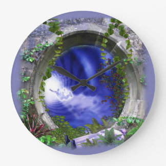 Timeless Astral world Large Clock