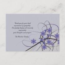 Timeless - Bereavement Thank You Notecard