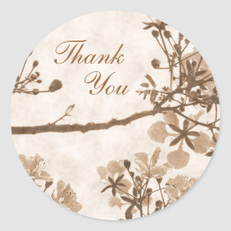 Timeless  Bliss - Thank You Sticker