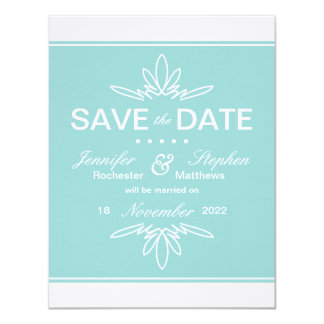 Timeless Charm Save the Date Announcement - Sky