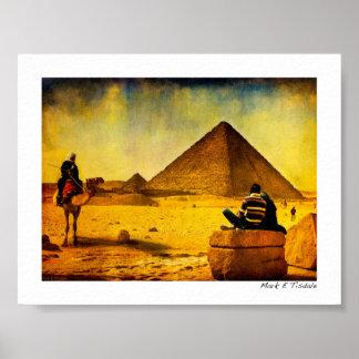 Timeless Egypt - The Pyramids - Mini Poster