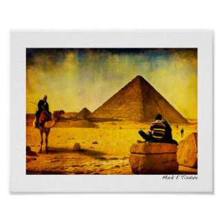Timeless Egypt - The Pyramids - Small Poster