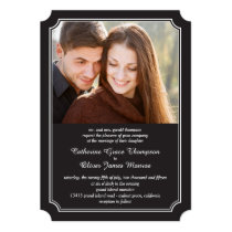 Timeless Elegance Photo Wedding Invitations