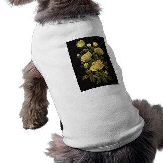 Timeless Globeflowers Doggie Tshirt