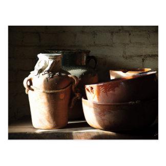 Timeless Pottery Postcards