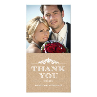Timeless Sentiment Thank You Cards - Craft Personalized Photo Card