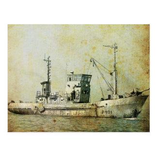 Timeless Ship! Postcard