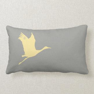 Timeless Trinkets: Flying Crane Pillow