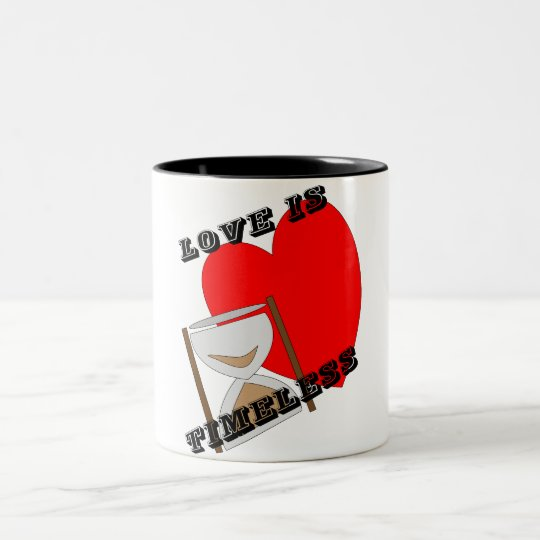 timeless Two-Tone coffee mug
