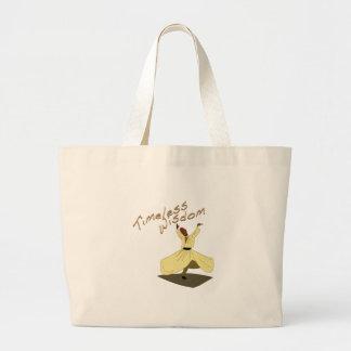 Timeless Wisdom Jumbo Tote Bag