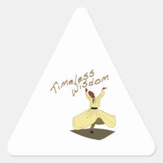 Timeless Wisdom Triangle Sticker
