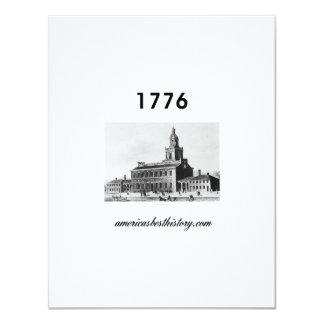 Timeline 1776 card