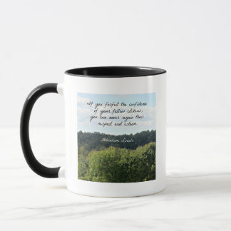 Timely Quote by Abraham Lincoln Mug