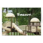 Timeout Notecard Stationery Note Card