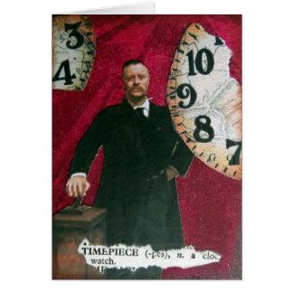 Timepiece, birthday card