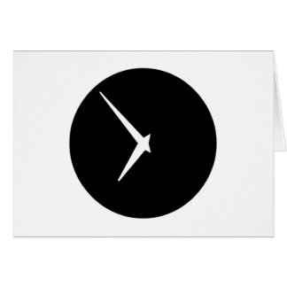 Timepiece by Leslie Peppers Card