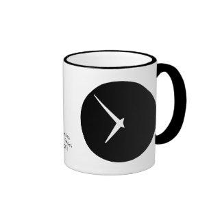 Timepiece by Leslie Peppers Ringer Mug