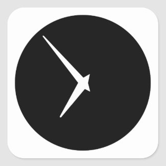 Timepiece by Leslie Peppers Square Sticker