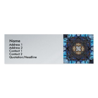 Timepiece - Skinny Double-Sided Mini Business Cards (Pack Of 20)