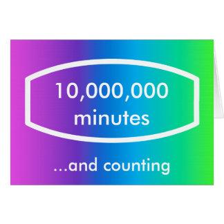 Timepodz rainbow card - 10 000 000 minutes