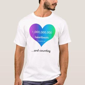 timepodz rainbow heartbeats - 1,000,000,000 T-Shirt