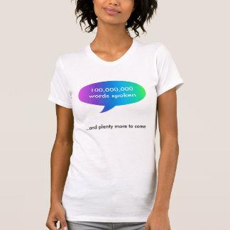 timepodz rainbow words - 100 million T-Shirt