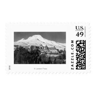 Timerline Lodge and Mt. Hood Photograph Postage