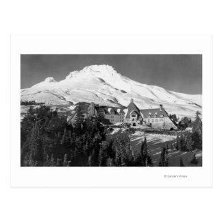 Timerline Lodge and Mt. Hood Photograph Postcard