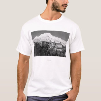 Timerline Lodge and Mt. Hood Photograph T-Shirt