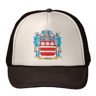 Times Coat of Arms - Family Crest Trucker Hat
