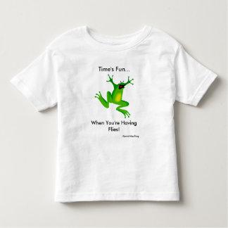 Time's Fun When you're having flies! Toddler T-shirt