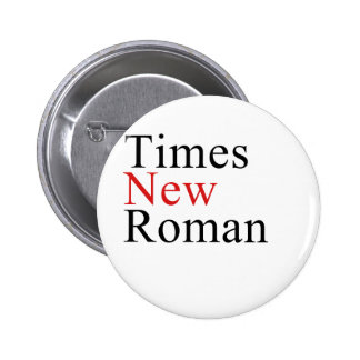 Times New Roman Buttons