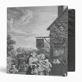 Times of the Day, Evening, 1738 Binder