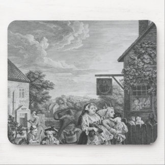 Times of the Day, Evening, 1738 Mouse Pad