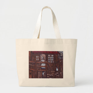 TIMES PAST LARGE TOTE BAG
