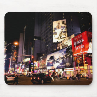Times Sq Billboards Mouse Pad