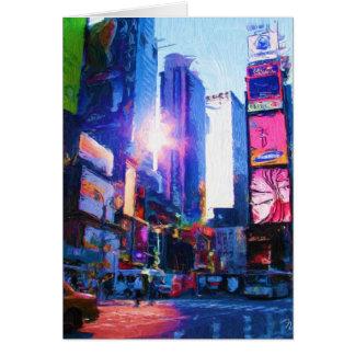 Times Sq Sun Reflection Card