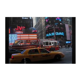 Times Sqaure Street View Acrylic Wall Art