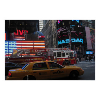 Times Sqaure Street View Poster