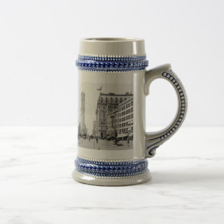 Times Square 1908 18 Oz Beer Stein