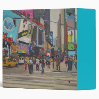 Times Square 2012 3 Ring Binder